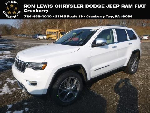 Bright White 2019 Jeep Grand Cherokee Limited 4x4