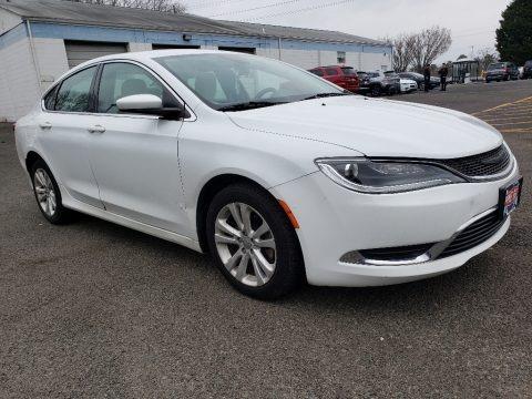 Bright White 2016 Chrysler 200 Limited