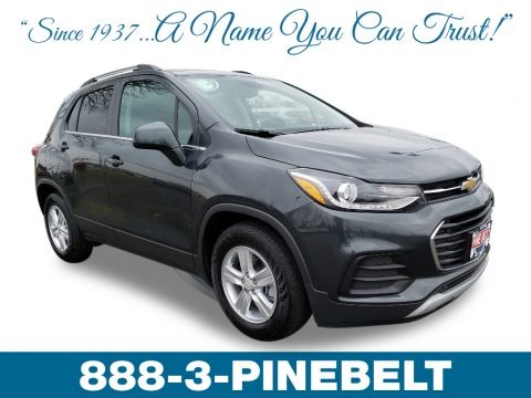 Nightfall Gray Metallic 2019 Chevrolet Trax LT