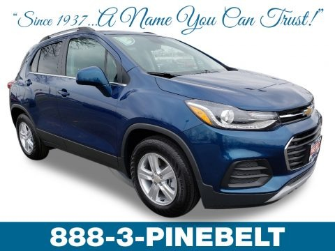 Pacific Blue Metallic 2019 Chevrolet Trax LT