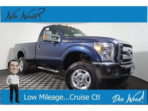 Blue Jeans 2015 Ford F250 Super Duty XLT Regular Cab 4x4