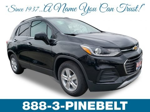 Mosaic Black Metallic 2019 Chevrolet Trax LT