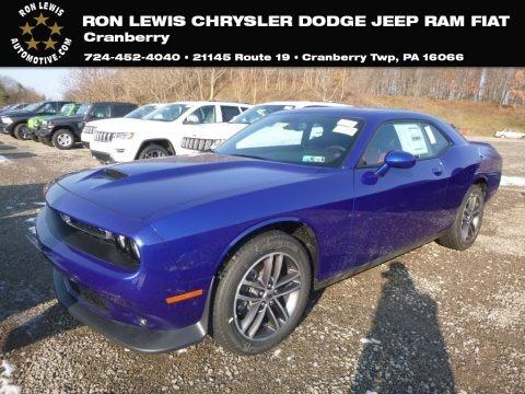 Indigo Blue 2019 Dodge Challenger GT AWD
