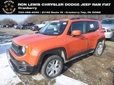 Omaha Orange 2018 Jeep Renegade Latitude 4x4