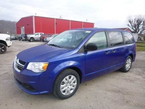 Indigo Blue 2019 Dodge Grand Caravan SE