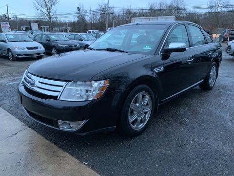 Black Clearcoat 2008 Ford Taurus Limited