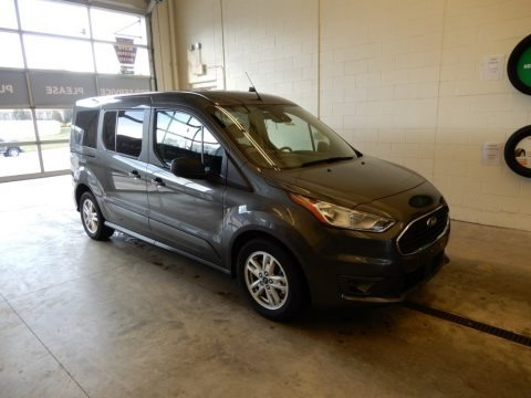 Magnetic Metallic 2019 Ford Transit Connect XLT Passenger Wagon