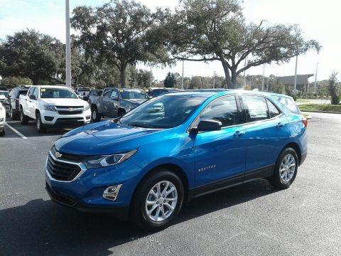 Kinetic Blue Metallic 2019 Chevrolet Equinox LS