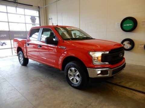 Race Red 2018 Ford F150 XL SuperCrew 4x4