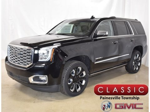 Onyx Black 2019 GMC Yukon Denali 4WD