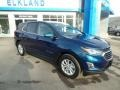 Chevrolet Equinox LT AWD Pacific Blue Metallic photo #3