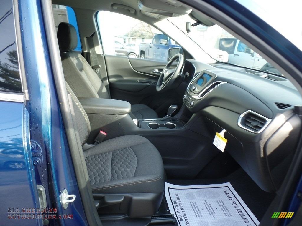 2019 Equinox LT AWD - Pacific Blue Metallic / Jet Black photo #46