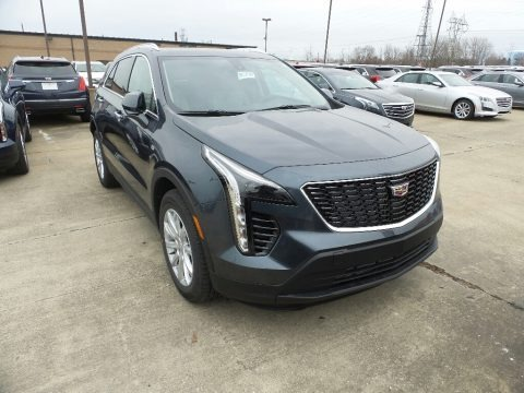 Shadow Metallic 2019 Cadillac XT4 Luxury AWD