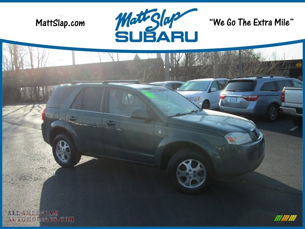 Cypress Green / Tan Saturn VUE V6