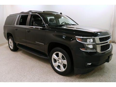 Black 2015 Chevrolet Suburban LT 4WD