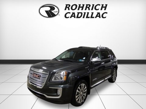 Graphite Gray Metallic 2017 GMC Terrain Denali AWD