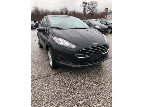 Shadow Black 2019 Ford Fiesta SE Sedan