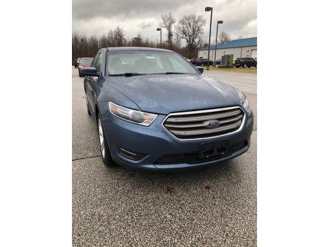 Blue Metallic 2019 Ford Taurus SEL