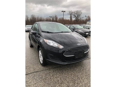 Shadow Black 2018 Ford Fiesta SE Hatchback