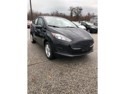 Shadow Black 2018 Ford Fiesta SE Sedan