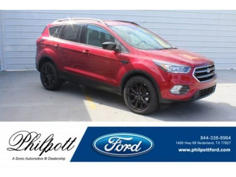 Ruby Red 2019 Ford Escape SE