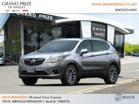 Satin Steel Gray Metallic 2019 Buick Envision Essence AWD