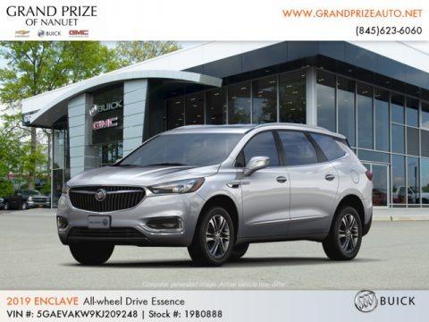 Quicksilver Metallic 2019 Buick Enclave Essence AWD