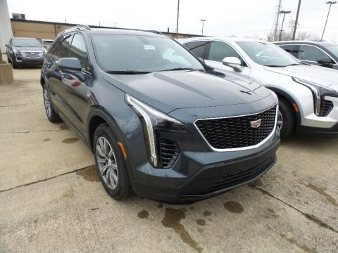 Shadow Metallic 2019 Cadillac XT4 Sport AWD