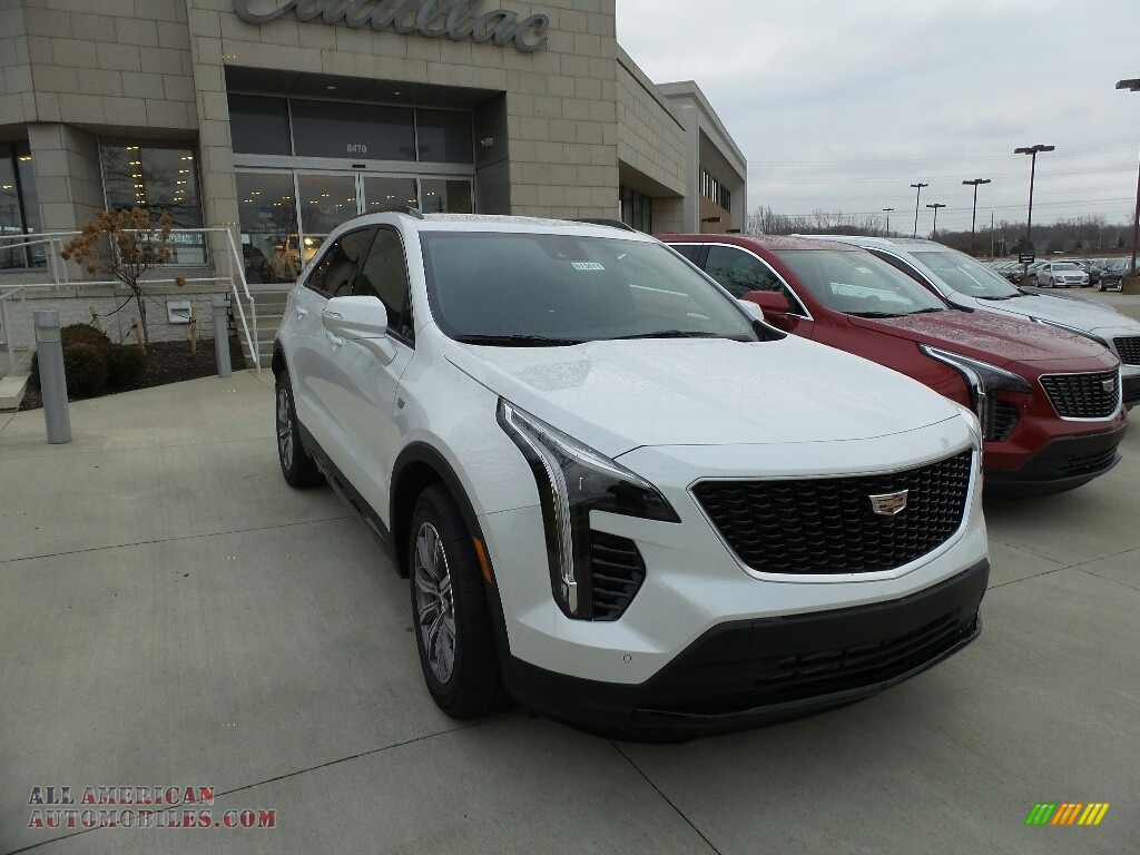 2019 XT4 Sport AWD - Crystal White Tricoat / Jet Black photo #1