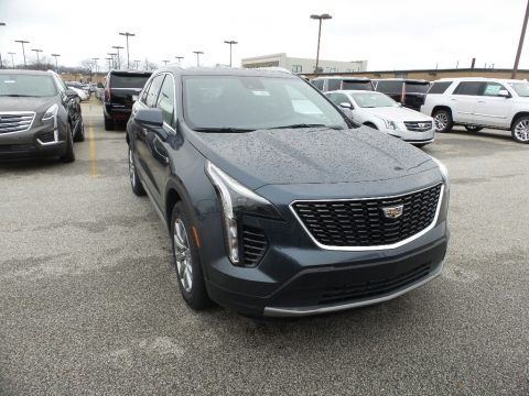 Shadow Metallic 2019 Cadillac XT4 Premium Luxury AWD