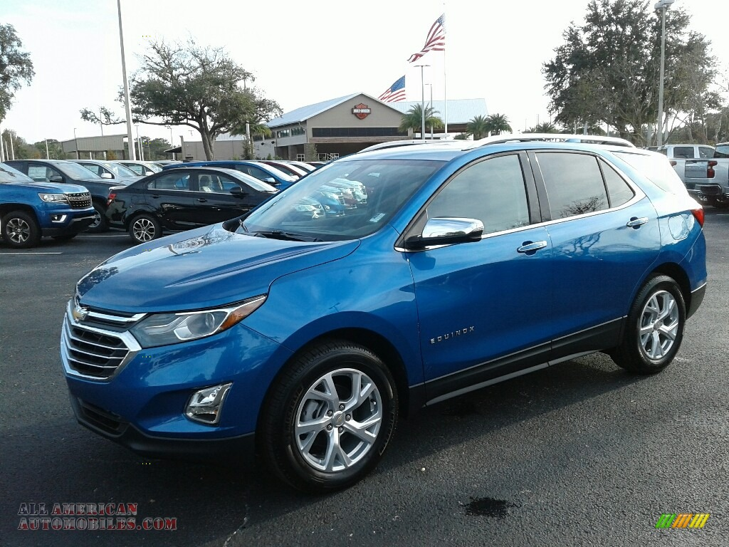 2019 Equinox Premier - Kinetic Blue Metallic / Medium Ash Gray photo #1