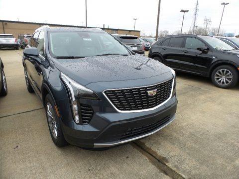 Shadow Metallic 2019 Cadillac XT4 Premium Luxury AWD