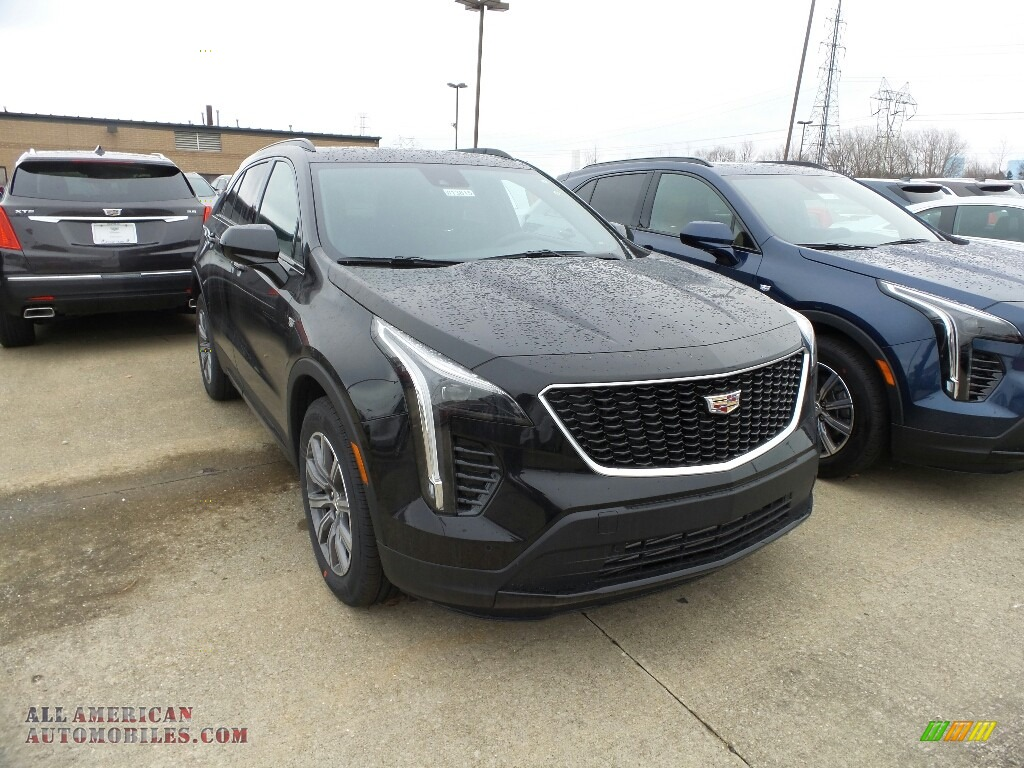 2019 XT4 Sport AWD - Stellar Black Metallic / Jet Black photo #1