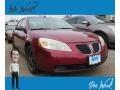 Pontiac G6 Sedan Performance Red Metallic photo #1