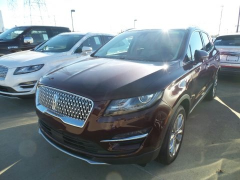 Burgundy Velvet Metallic 2019 Lincoln MKC Select AWD