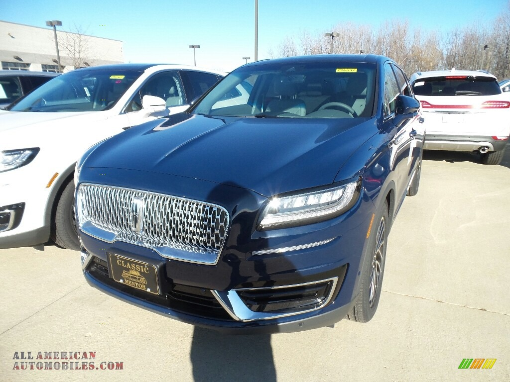 Rhapsody Blue / Slate Lincoln Nautilus Reserve AWD