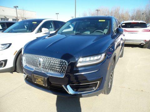 Rhapsody Blue 2019 Lincoln Nautilus Reserve AWD