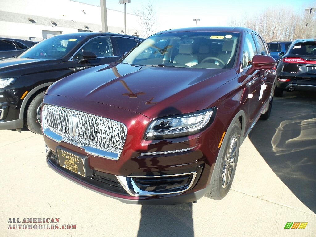 2019 Nautilus Select AWD - Burgundy Velvet / Cappuccino photo #1