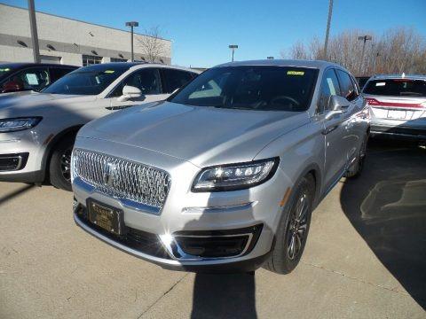Ingot Silver 2019 Lincoln Nautilus Select