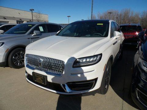 White Platinum 2019 Lincoln Nautilus Reserve AWD