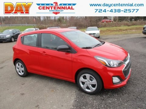 Red Hot 2019 Chevrolet Spark LS