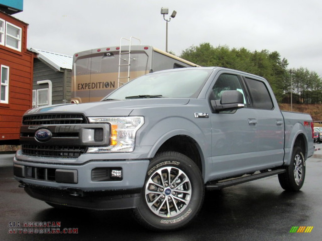Abyss Gray / Black Ford F150 XLT SuperCrew 4x4