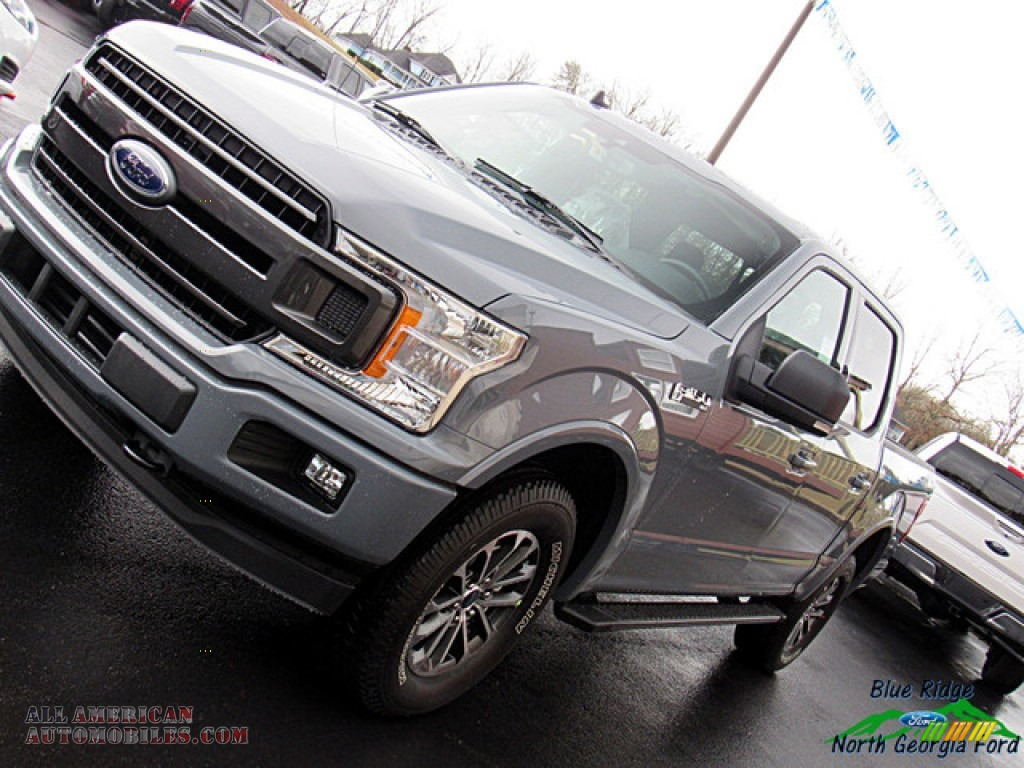 2019 F150 XLT SuperCrew 4x4 - Abyss Gray / Black photo #33
