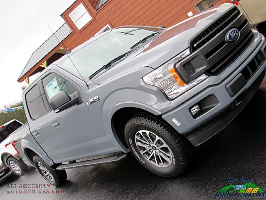 2019 F150 XLT SuperCrew 4x4 - Abyss Gray / Black photo #34