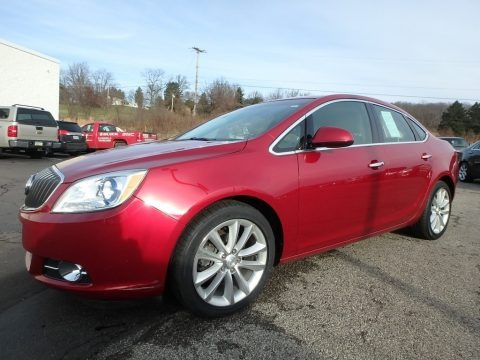 Crystal Red Tintcoat 2012 Buick Verano FWD