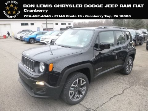 Black 2018 Jeep Renegade Latitude 4x4