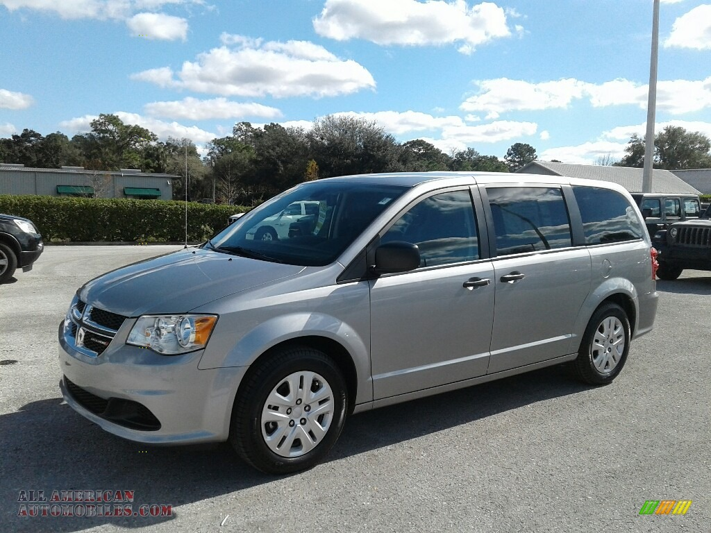 2019 Grand Caravan SE - Billet / Black/Light Graystone photo #1