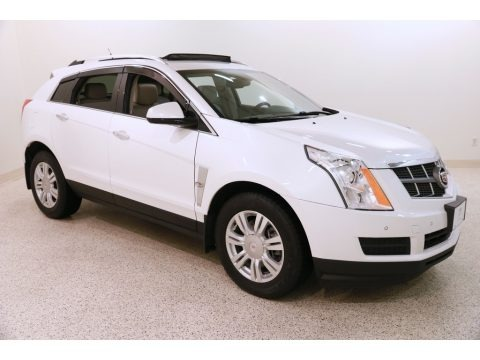 Platinum Ice Tricoat 2012 Cadillac SRX Luxury AWD