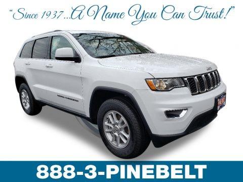 Bright White 2019 Jeep Grand Cherokee Laredo 4x4