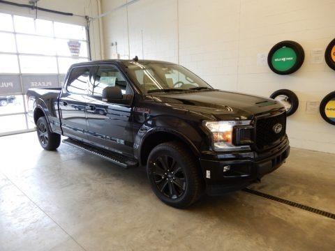 Agate Black 2019 Ford F150 XLT SuperCrew 4x4
